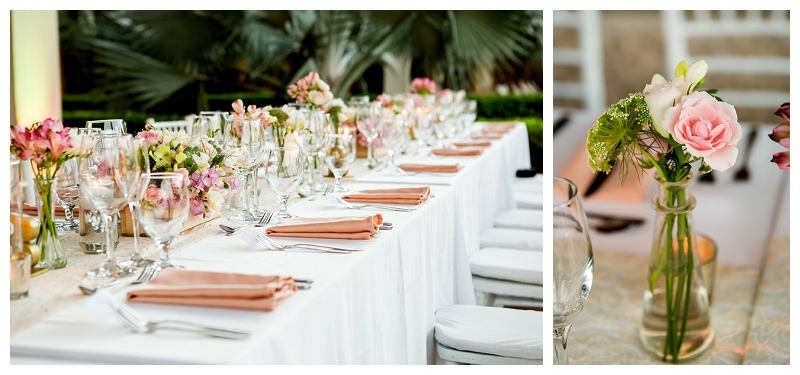 westin, costa rica, wedding details