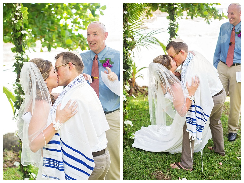 Jewish wedding photography, costa rica