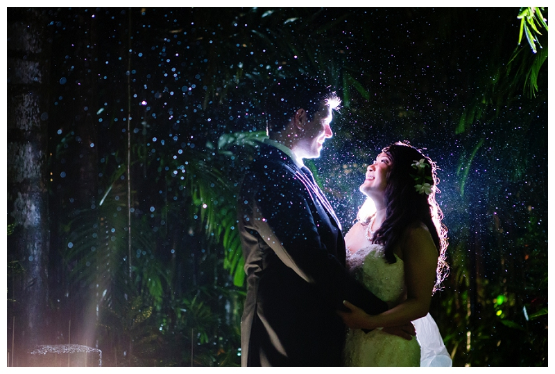 costa rica, rainy season, wedding