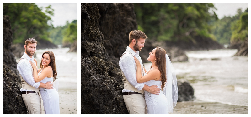 wedding portraits, costa rica