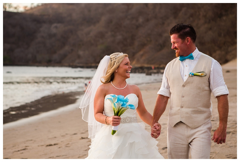 dreams las mareas, costa rica, wedding