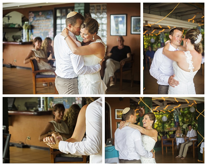 first dance, costa rica, wedding