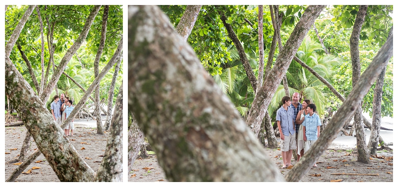 beach portraits, costa rica