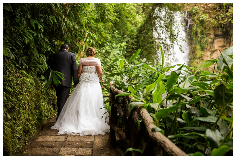 la paz waterfall garden, wedding photographer