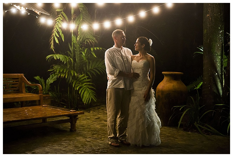 night photography, costa rica, weddings,