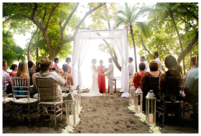 discovery beach house, wedding ceremony