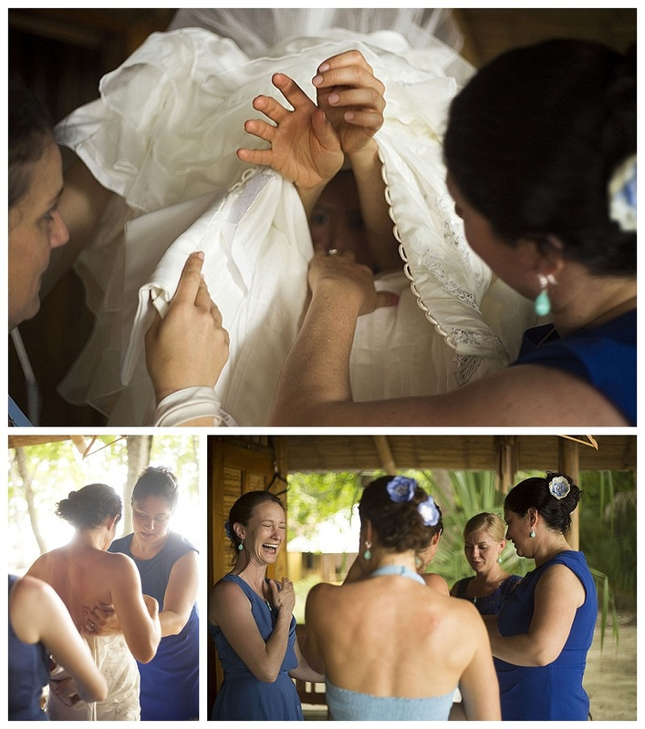 beach wedding, santa teresa, costa rica