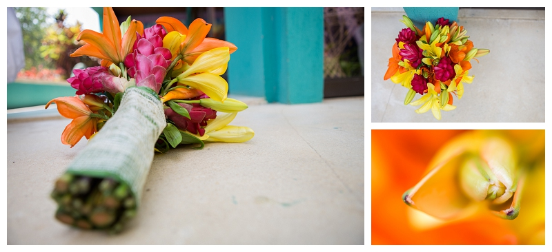 costa rica, tropical, wedding, flowers