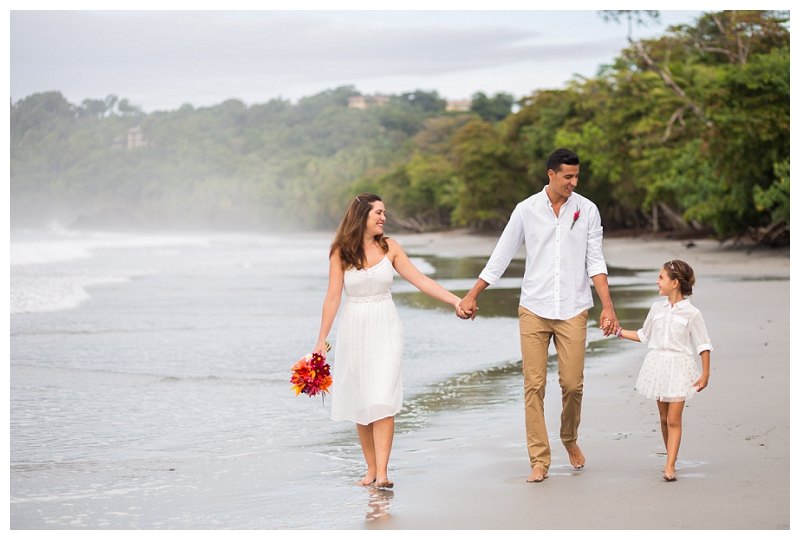 costa rica beach weddings, photography