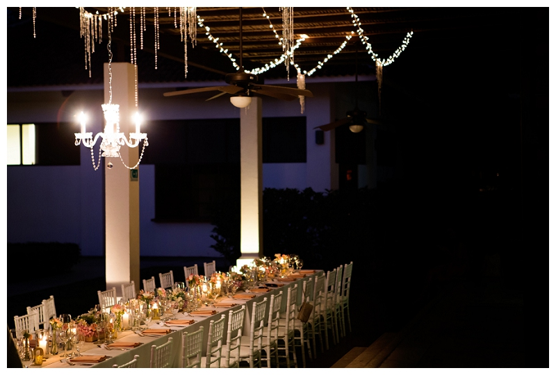 costa rica, wedding, lighting, rentals