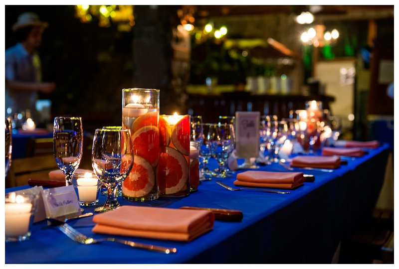 la cantina, wedding reception, manuel antonio