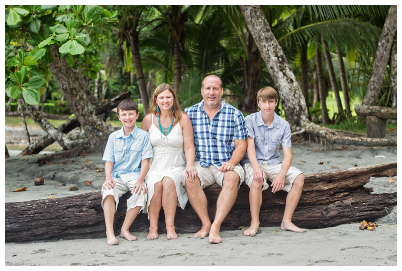 family portraits. costa rica