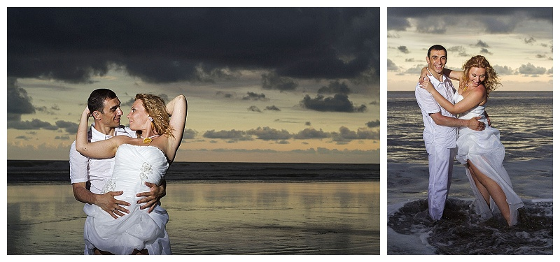 costa rica trash the dress photography