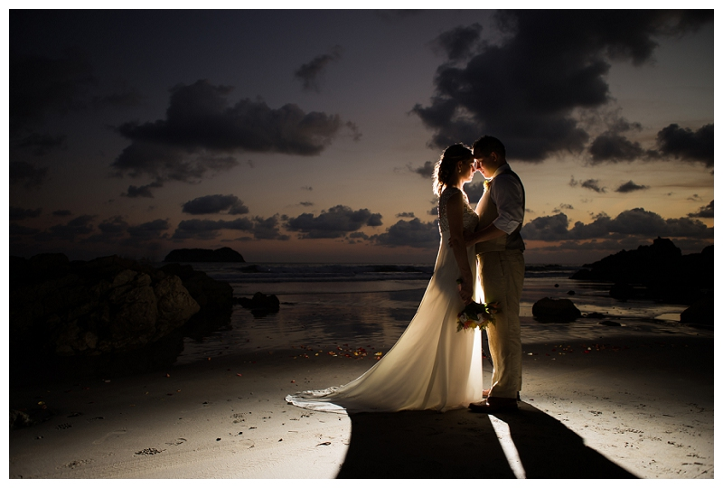 beautiful wedding photography, costa rica