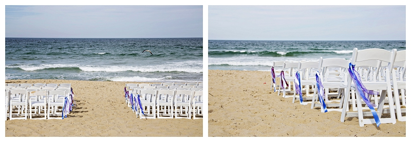 nags head, nc. beach ceremony