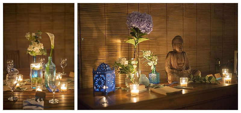 candlelight reception, milarepa, mal pais green weddings
