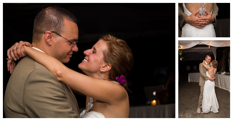 Candi and Brian's wedding, costa rica