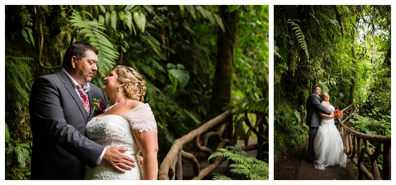 la paz waterfall weddings, costa rica