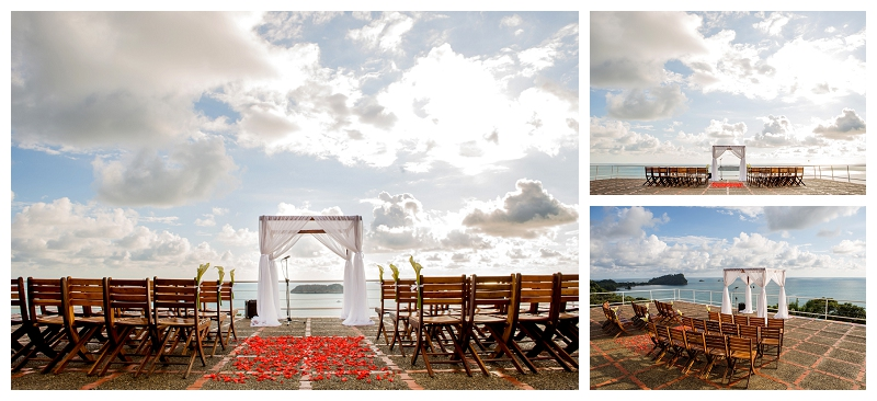 costa verde, wedding deck, helipad