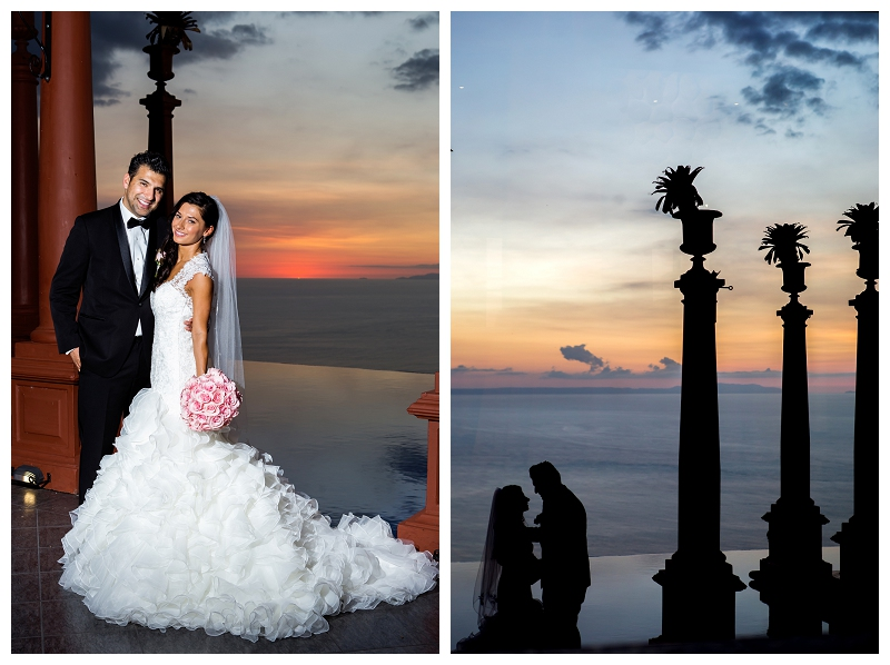 zephyr palace, wedding, sunset