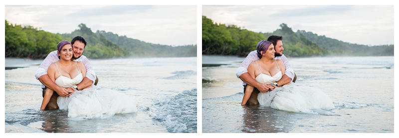 costa rica trash the dress photographers