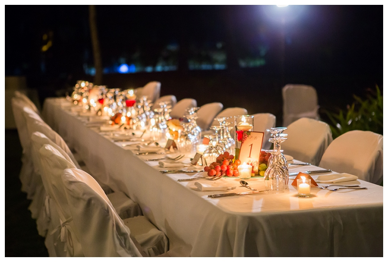 alma del pacifico, outdoor wedding, reception