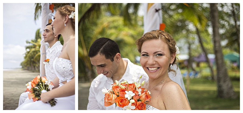 tropical, beach, wedding, elopement, photography