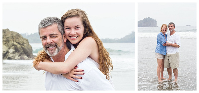 father and daughter, beach portraits, photography, husband and wife
