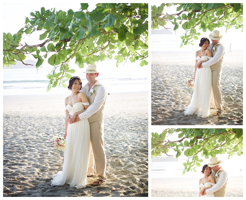 tropical lighting, blown out background, beach photos, wedding photography