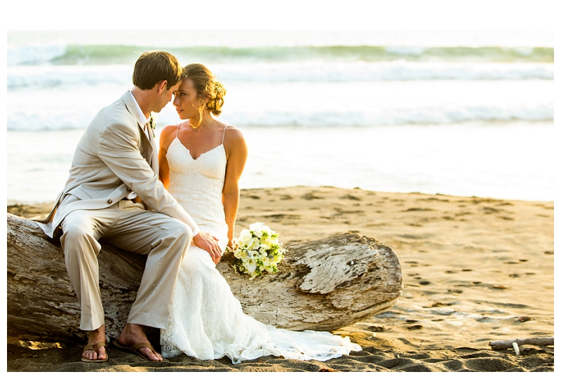 costa rica, beach weddings