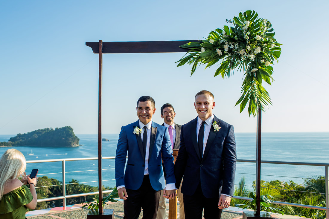 costa rica destination wedding photography